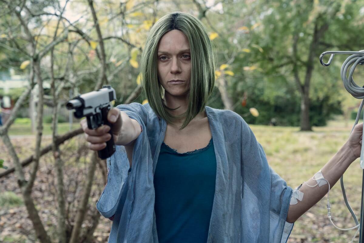 Hilarie Burton Morgan stars as Lucille, as seen in Episode 22 of AMC's The Walking Dead Season 10C