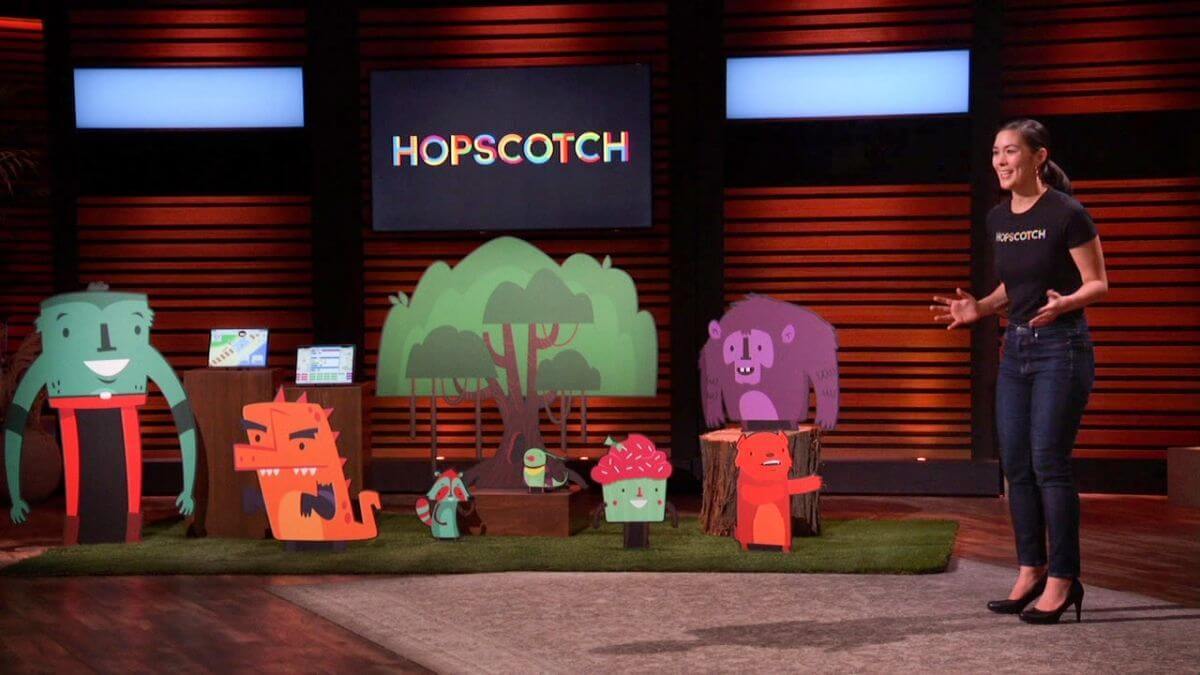 What is the nw Shark Tank product Hopscotch?