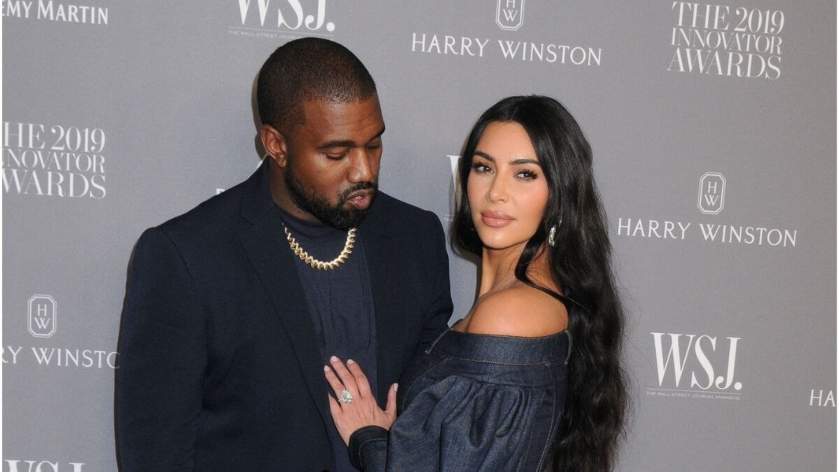 Kim Kardashian and Kanye West divorce papers filed.