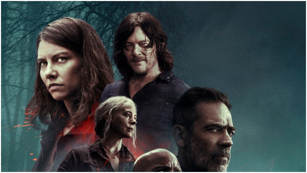 Key artwork for Season 10C of AMC's The Walking Dead