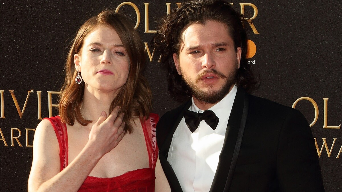 Game of Thrones' Kitt Harington and Rose Leslie