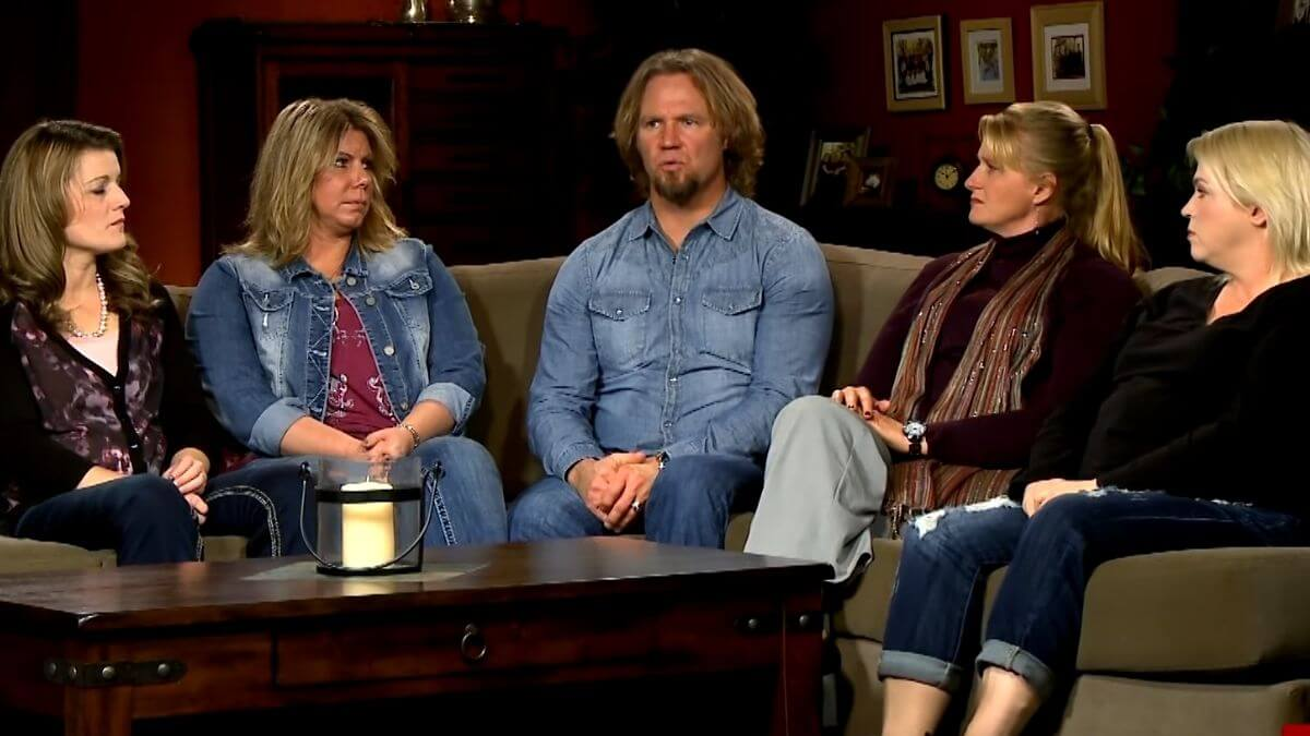 Kody Brown and his wives of Sister Wives.