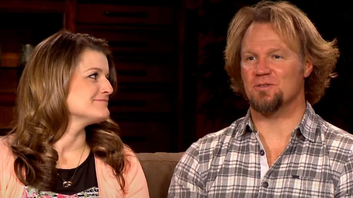 Robyn and Kody Brown of Sister Wives