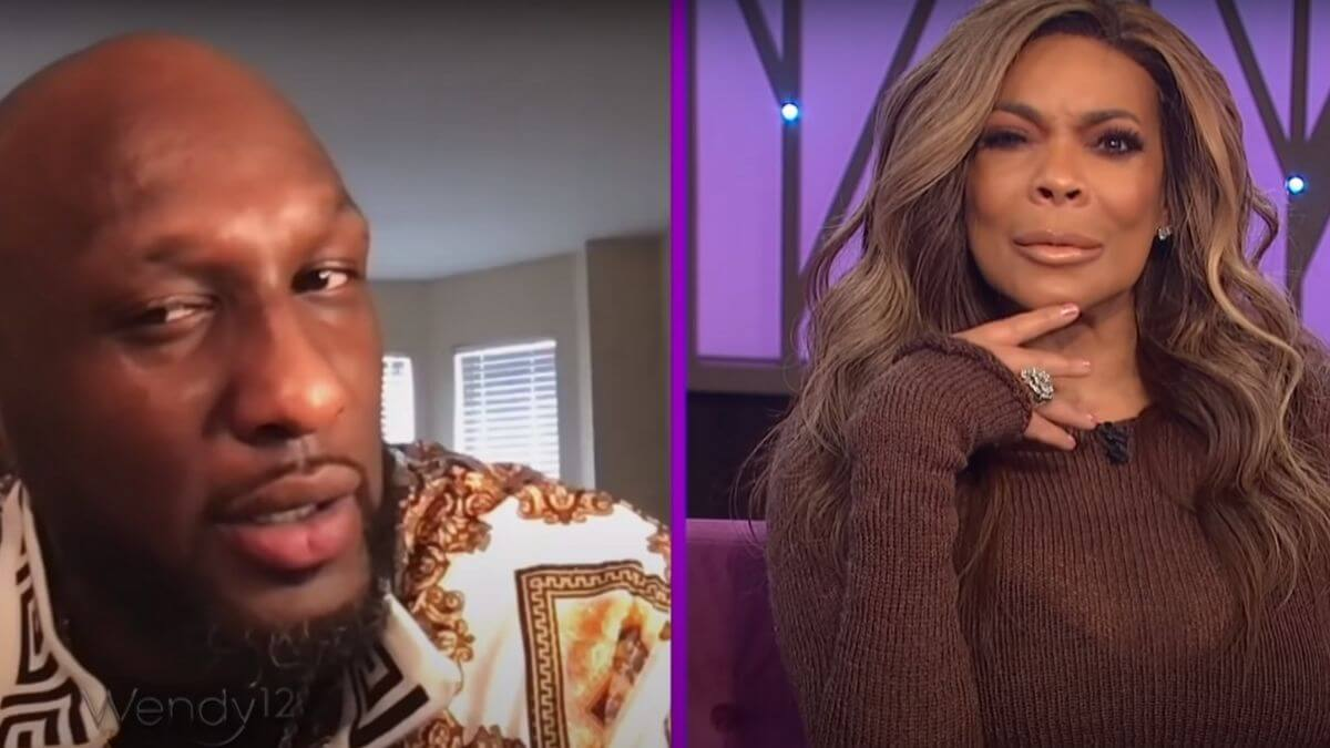 Lamar Odom on the Wendy Williams Show