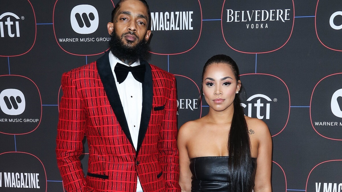 Lauren London and Nipsey Hussle.