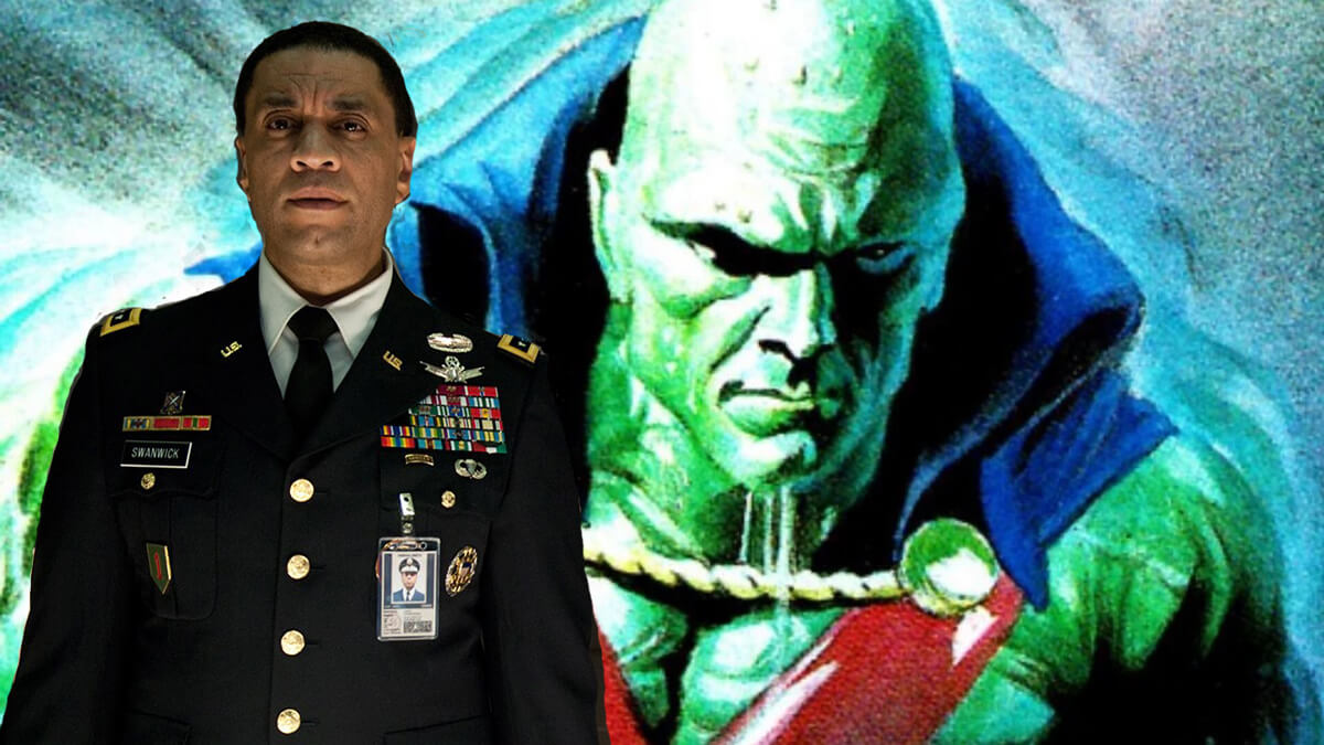 Zack Snyder explains why Martian Manhunter is in Justice League.