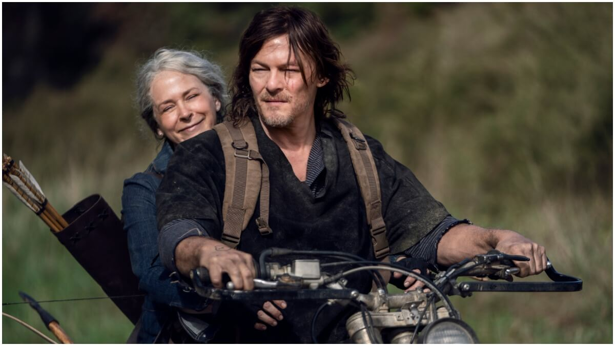 Melissa McBride and Norman Reedus star in Season 10C of The Walking Dead
