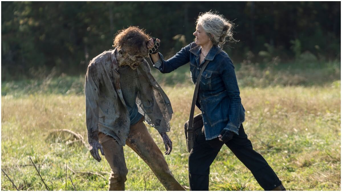 Melissa McBride stars as Carol Peletier in Episode 21 of AMC's The Walking Dead Season 10C