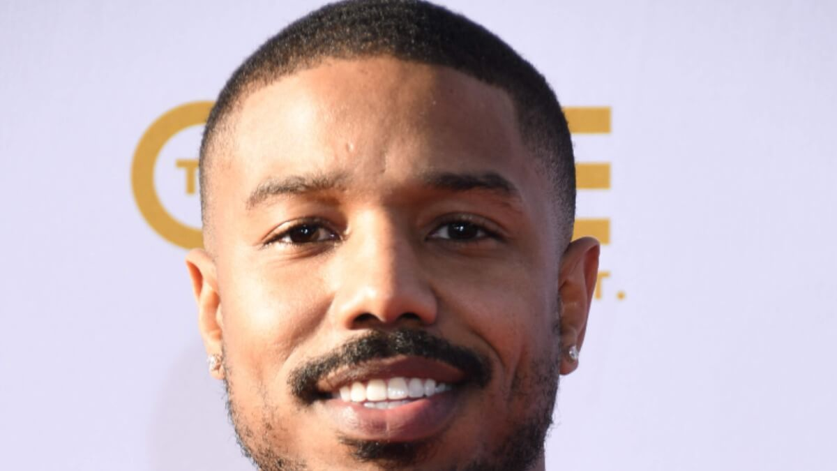 Michael B. Jordan at an event.