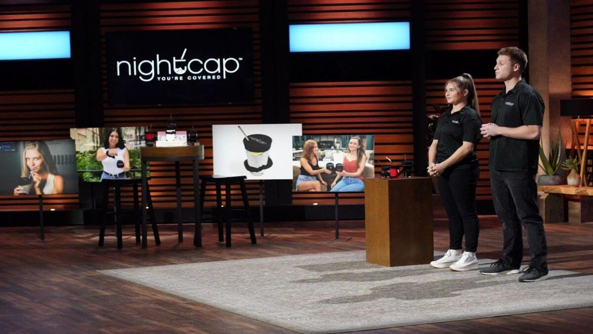Shark Tank; What is the Nightcap product.
