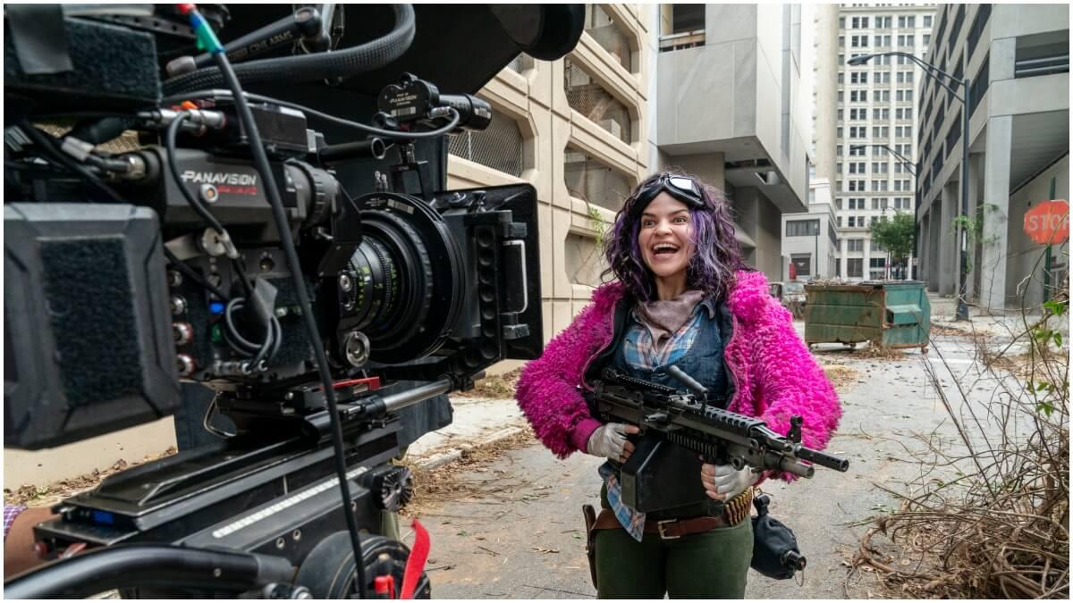 Paola Lazaro stars as Princess, as seen in Season 10B of AMC's The Walking Dead