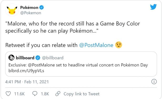Pokemon Post Malone Twitter