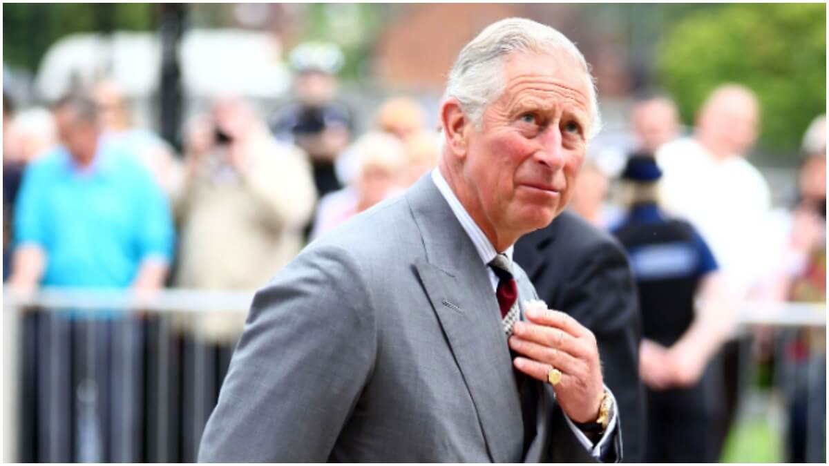 Prince Charles attends a Royal event
