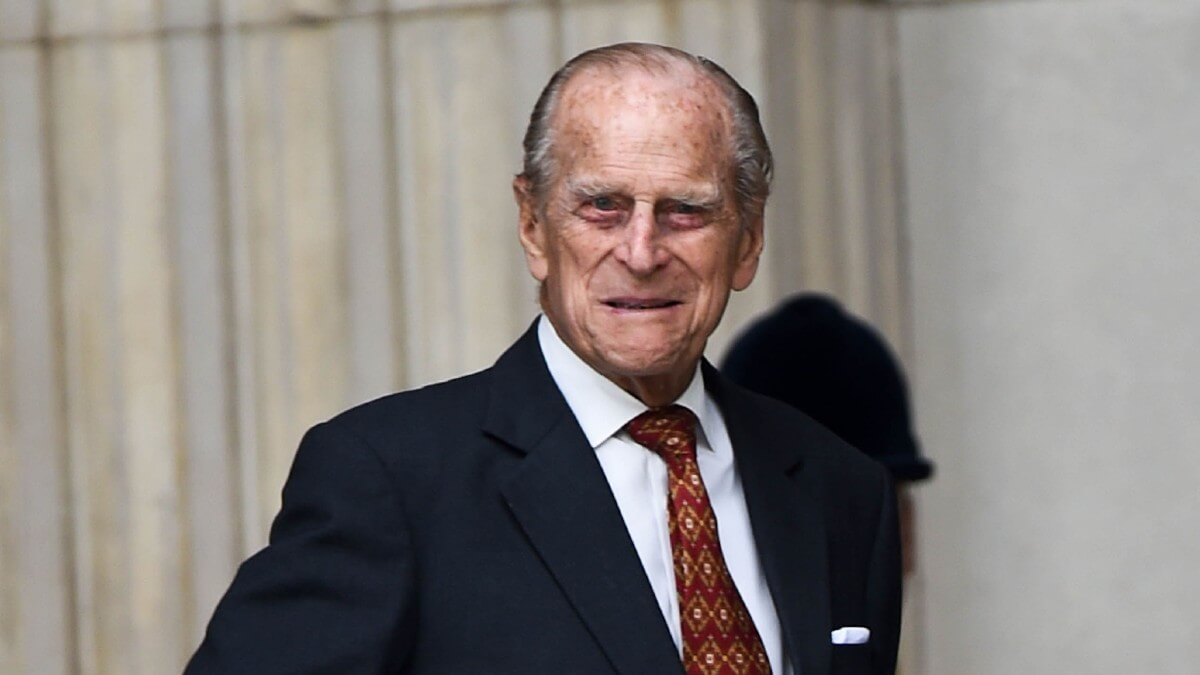 Prince Philip attends a royal event