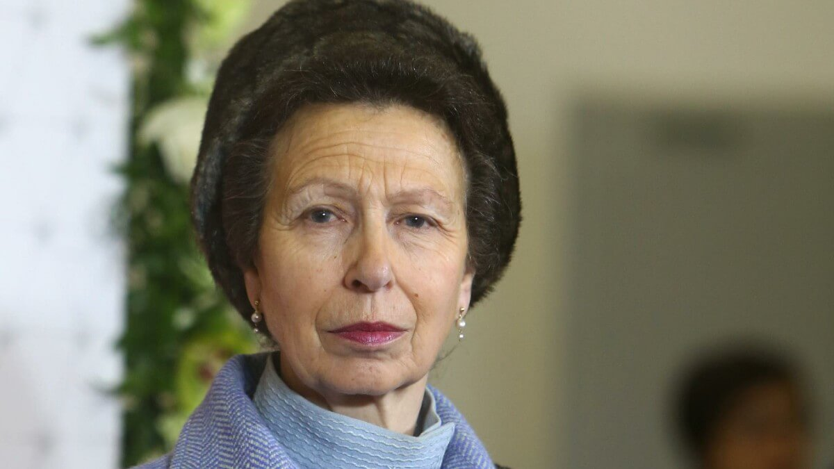 Princess Anne attends a public function