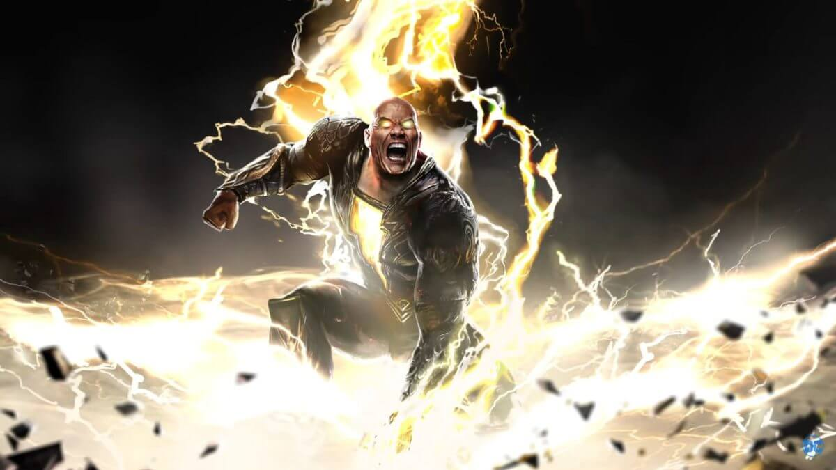 Dwayne Johnson reveals Black Adam has started filming