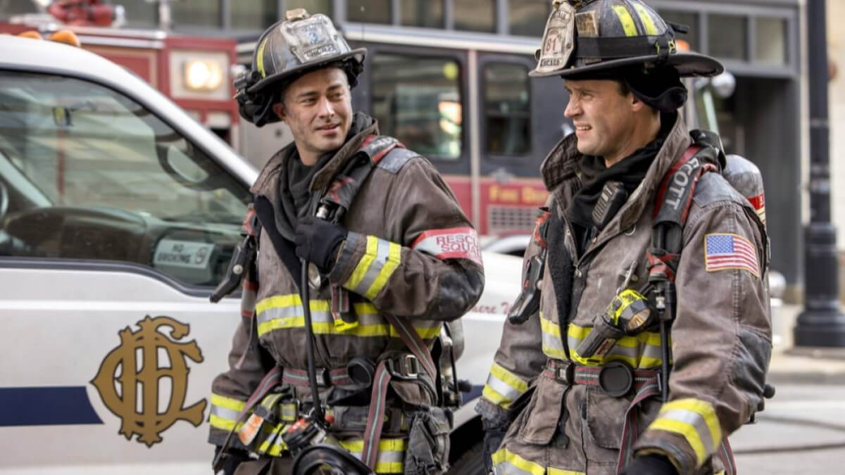 Severide And Casey Chicago Fire
