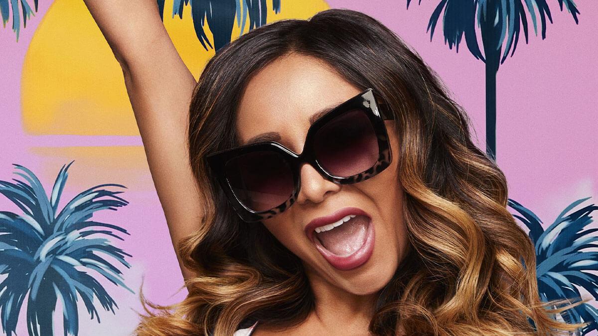"""Jersey Shore star Nicole """"Snooki"""" Polizzi."""