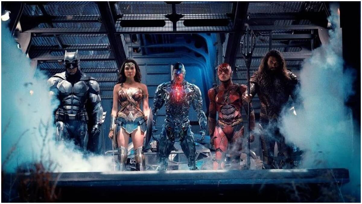 Zack Snyder's Justice League trailer.