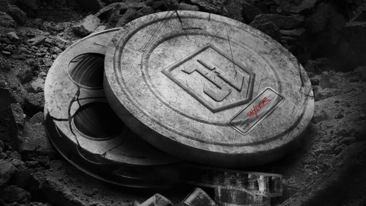 Teaser Art for Justice League The Snyder Cut.