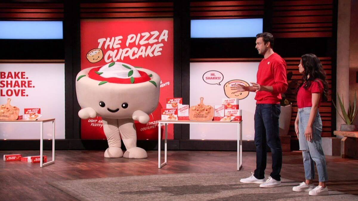 What is The Pizza Cupcake on Shark Tank ?