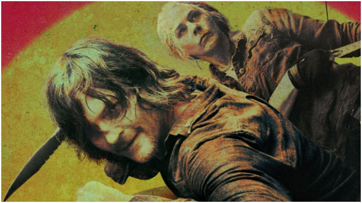 Daryl Dixon and Carol Peletier, as seen in Season 10 of The Walking Dead