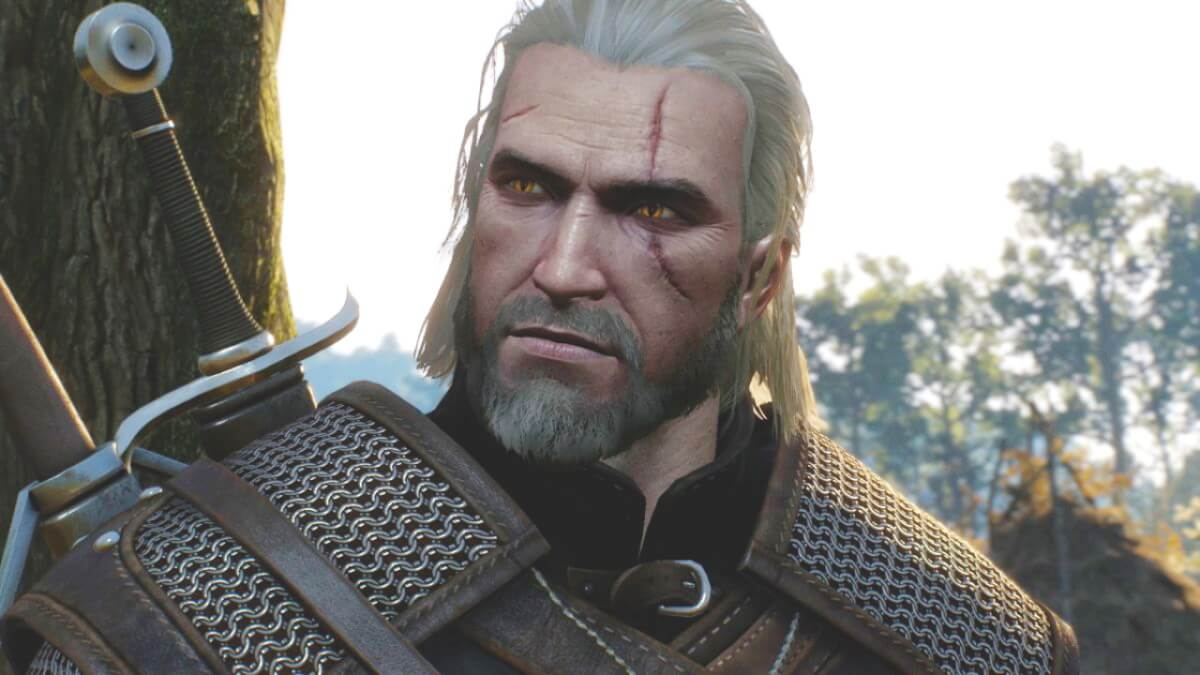 Promotional still from CD Projekt Red's game, The Witcher 3