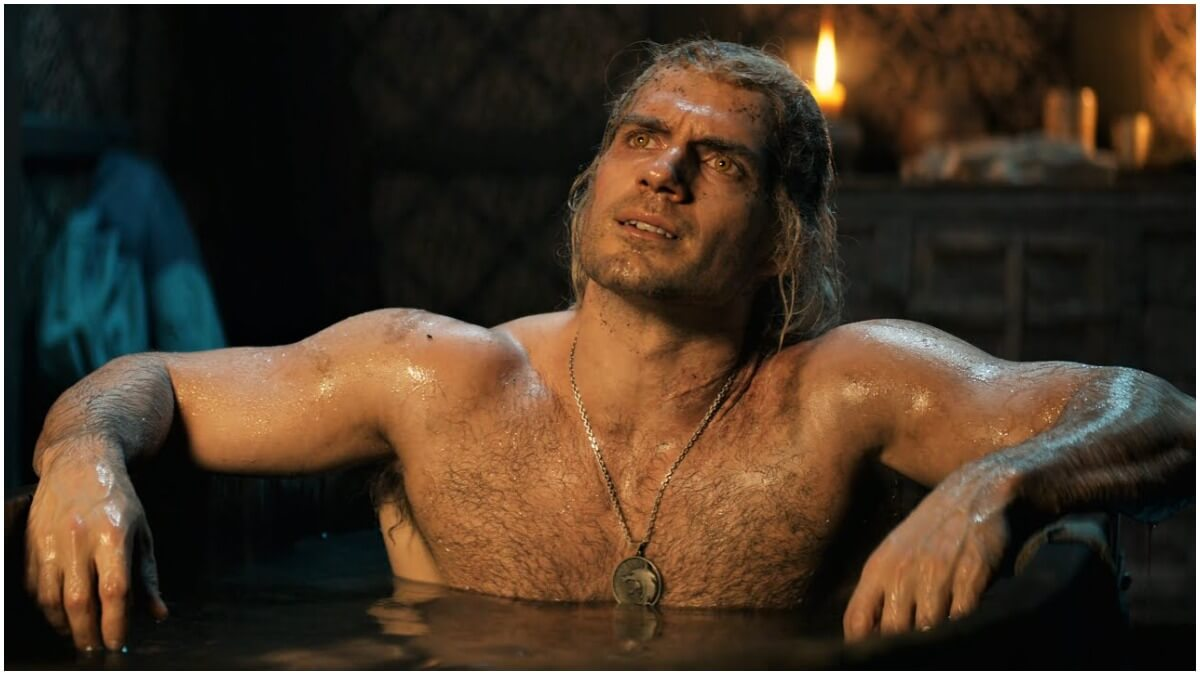 Henry Cavill stars as Geralt of Rivia in Neflic's adaptation of The Witcher