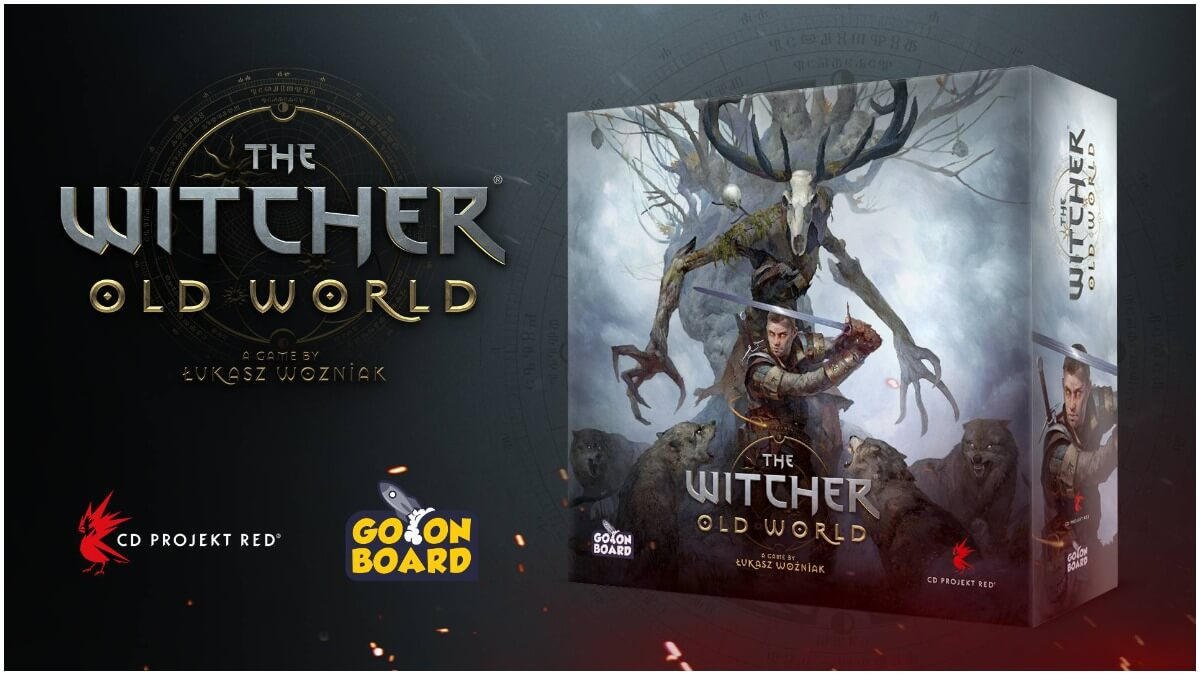 Promotional image for The Witcher Old World board game