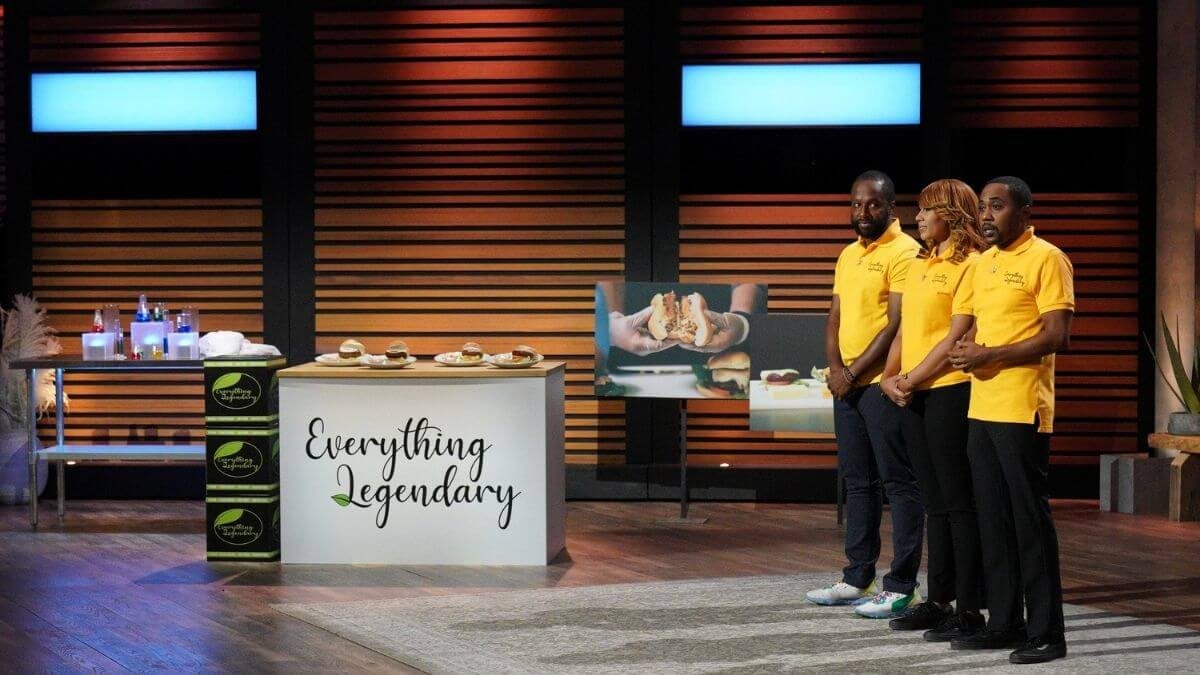 Jumoke Jackson, Danita Claytor, Duane 'Myko' Cheers plug their company Everything Legendary on Shark Tank