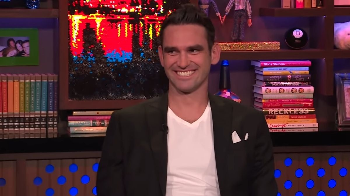 Carl Radke during an episode of Watch What Happens Live