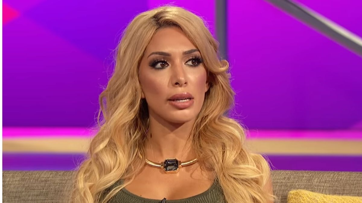 Farrah Abraham during a Teen Mom OG reunion
