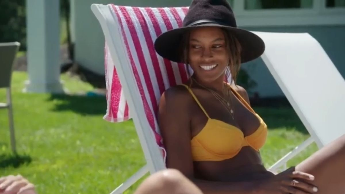 Ciara Miller during an episode of Summer House