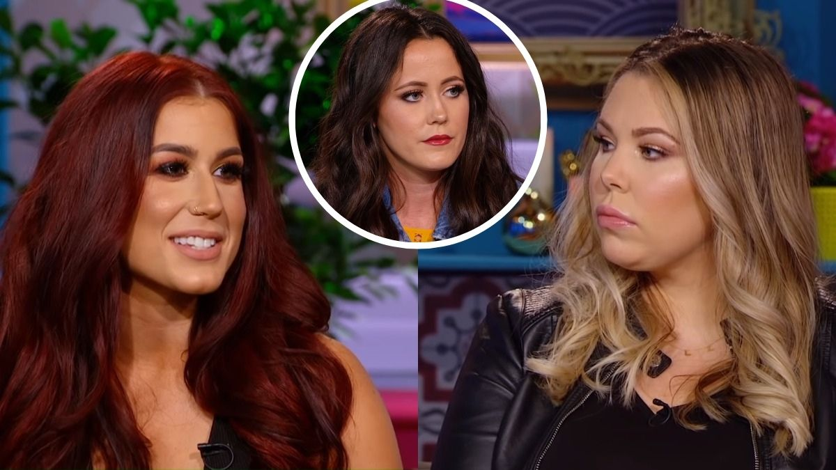 Chelsea Houska, Jenelle Evans and Kailyn Lowry Teen Mom 2