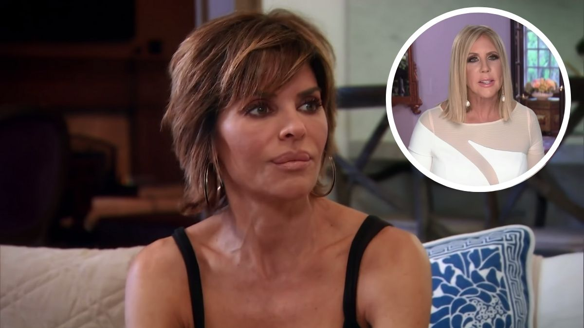 RHOBH star Lisa Rinna is throwing shade at Vicki Gunvalson once again