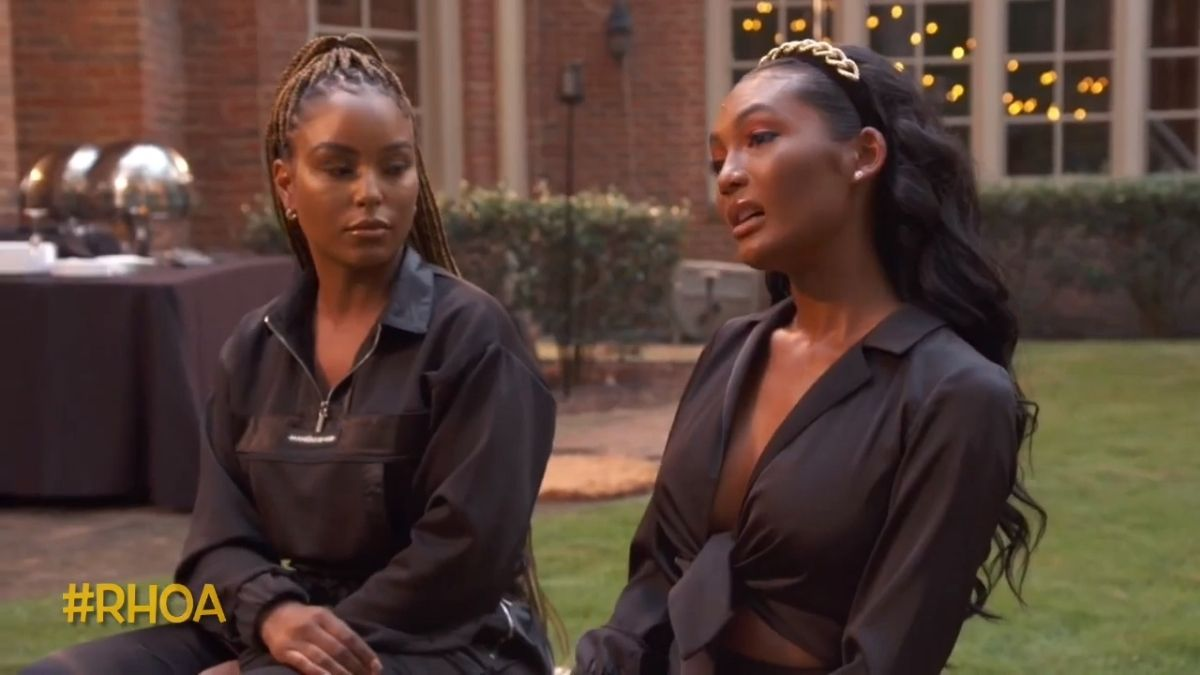 RHOA newbie Falynn Guobadio and LaToya Ali are feuding
