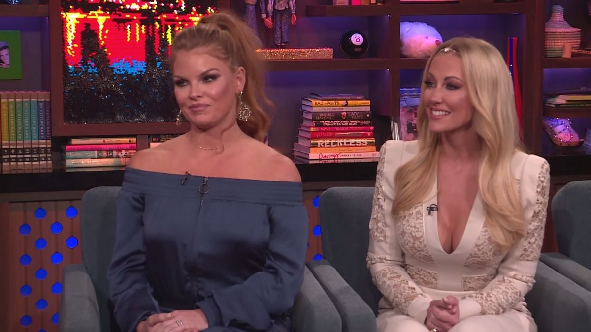 RHOD star Stephanie Hollman wasn't sure Brandi Redmond would return to the show after racism scandal