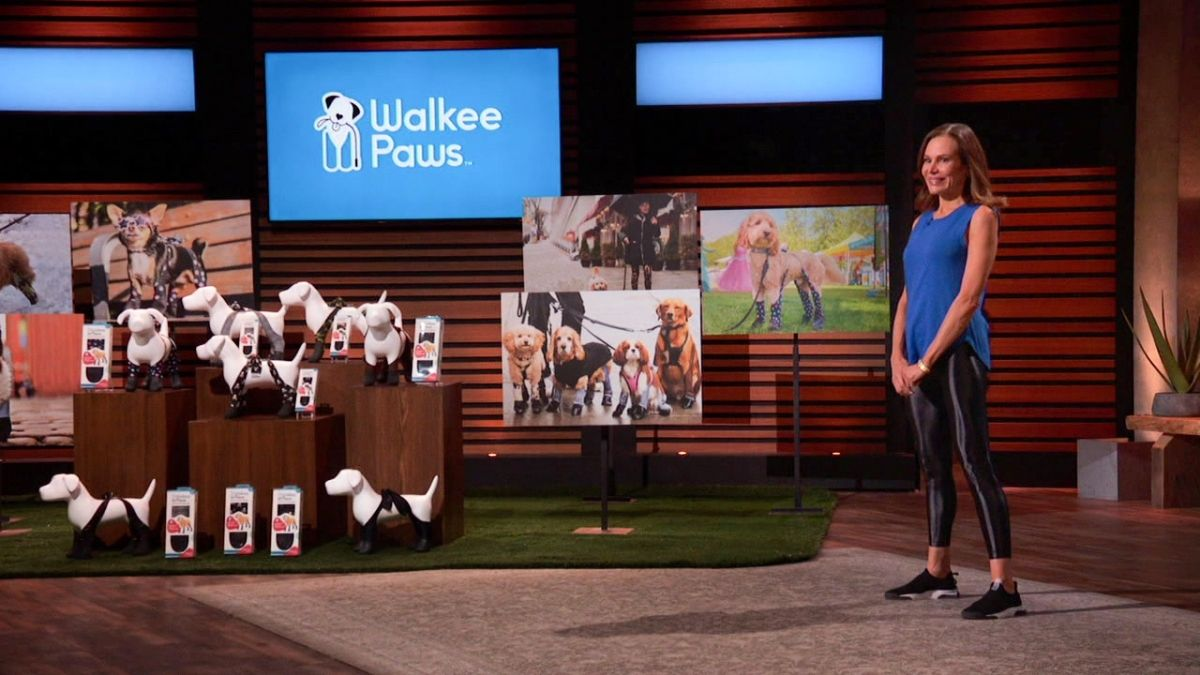 What is Walkee Paws on Shark Tank?