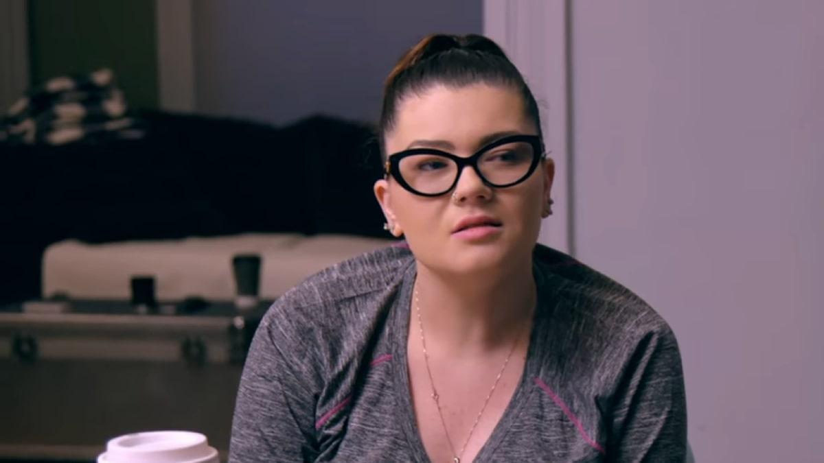 Teen Mom OG star Amber Portwood.
