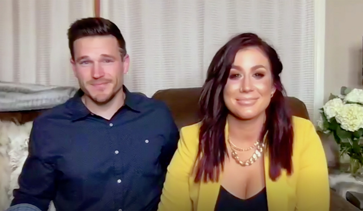 Chelsea and Cole looking back on their time on Teen Mom 2.