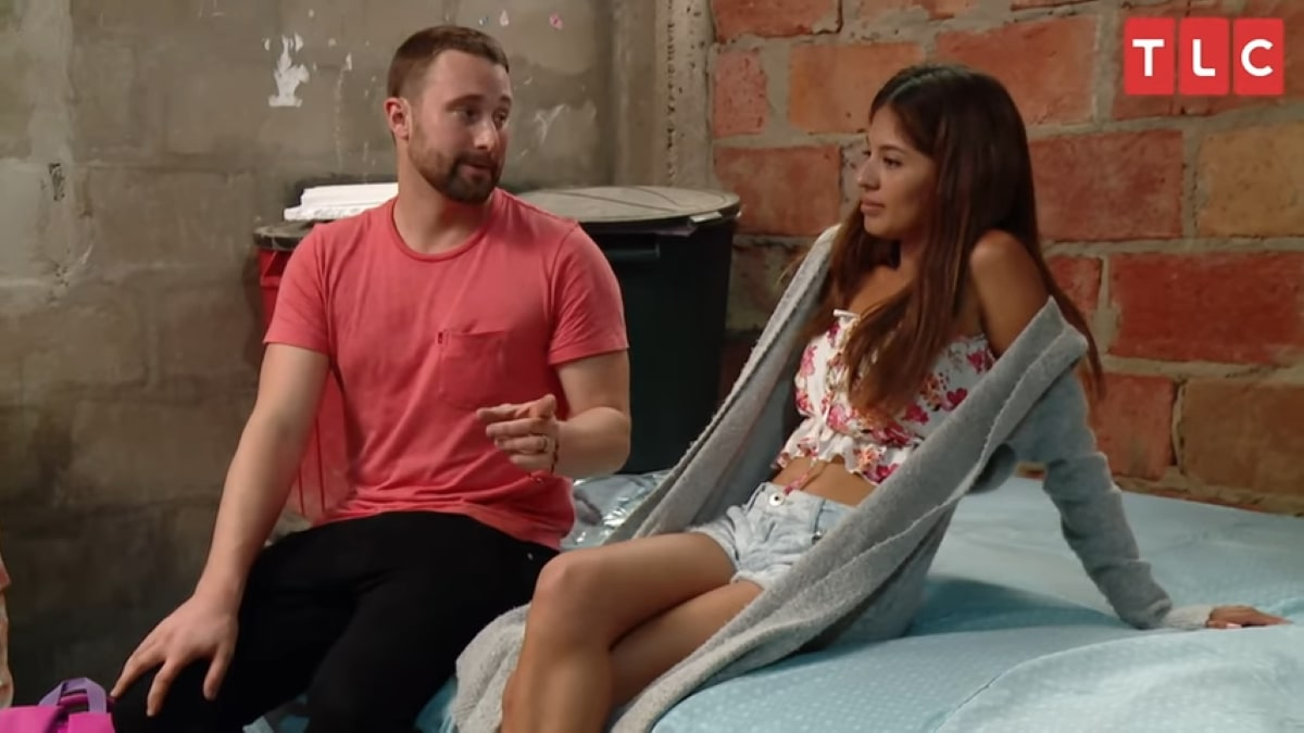 90 Day Fiance stars Corey Rathgeber and Evelin Villegas.