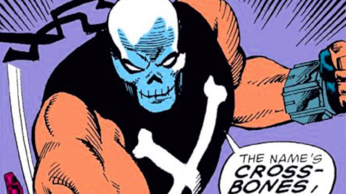 Crossbones not in MCU Comics.