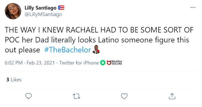 A fan wonders if Darrell is Hispanic.
