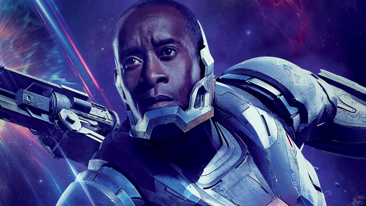 Don Cheadle in Falcon and Winter Soldier War Machine.