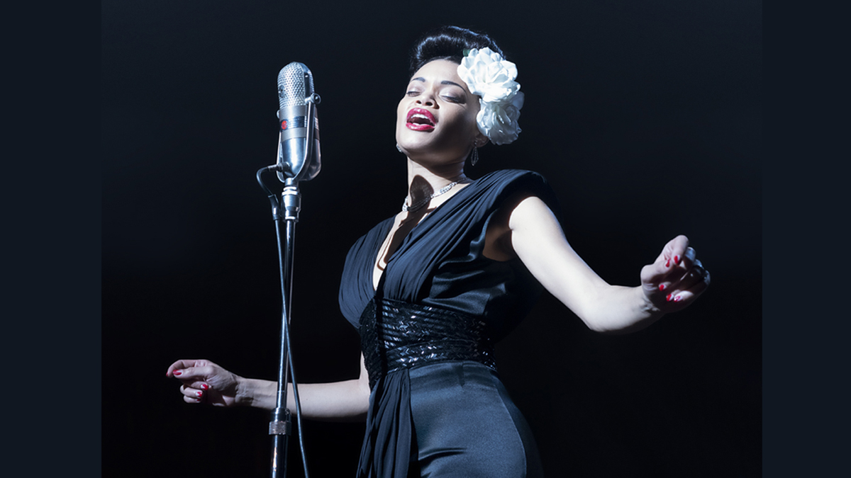 Andra Day stars in THE UNITED STATES VS. BILLIE HOLIDAY from Paramount Pictures