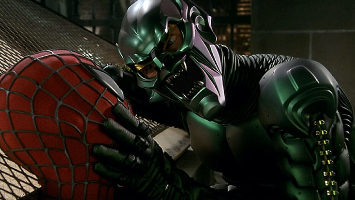 Green Goblin in Spider-Man 3 Sony.