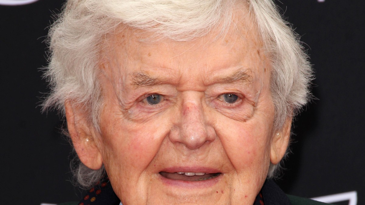 Hal Holbrook pictured at a press event.