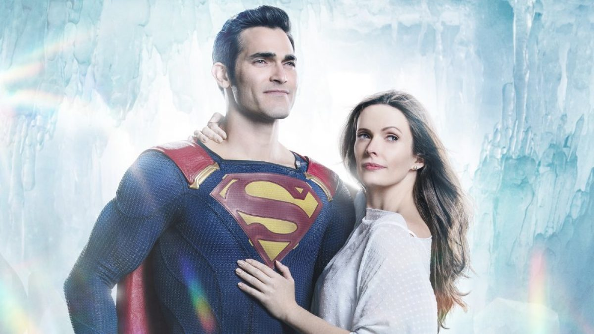 Tyler Hollechin and Elizabeth Tulloch in Superman & Lois