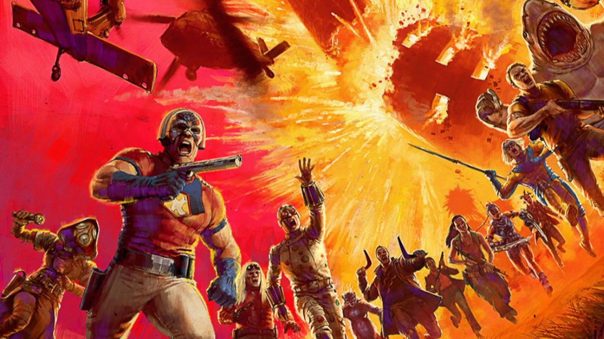 James Gunn teases new DC project The Suicide Squad poster.