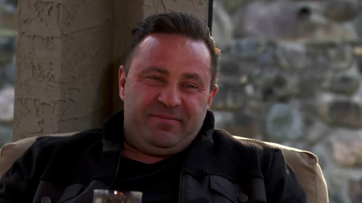 Former RHONJ husband Joe Giudice.